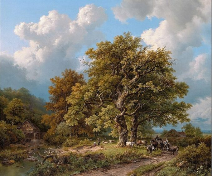 B.C. Koekkoek, Zomerlandschap