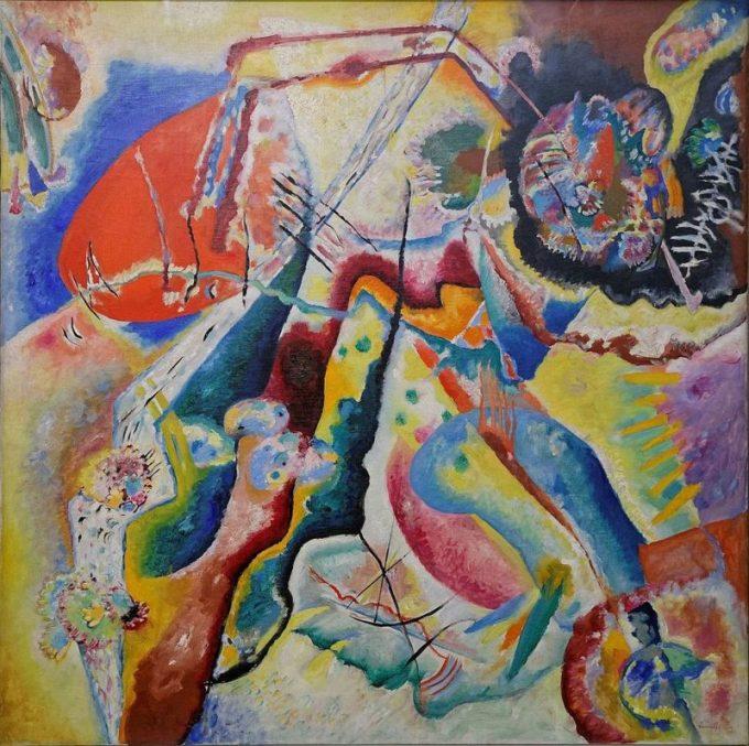 Wassily Kandinsky, Beeld met rode plek, 1914