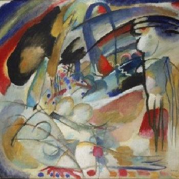 Wassily Kandinsky, Improvisatie 33 (Oriënt 1), 1913