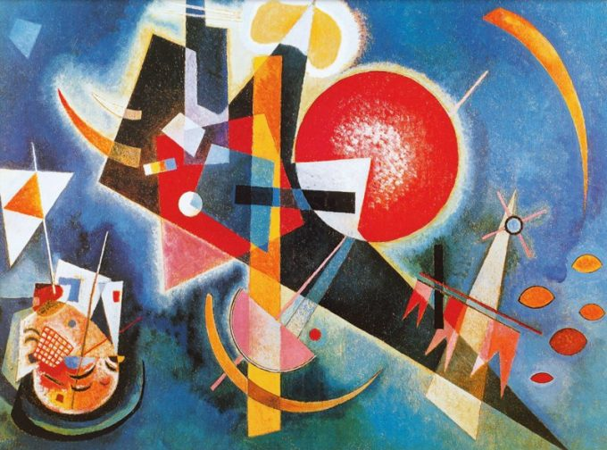 Wassily Kandinsky, In blue, 1925