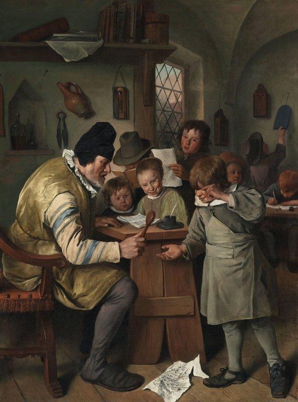 Jan Havickszoon Steen, De onderwijzer