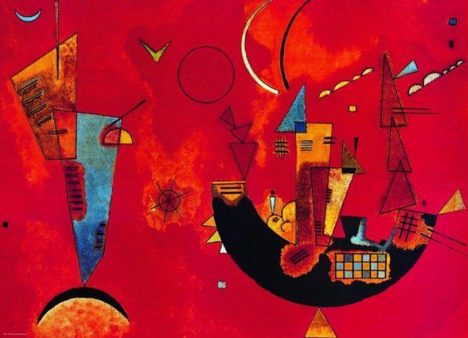 Wassily Kandinsky, Mit und gegen, 1929