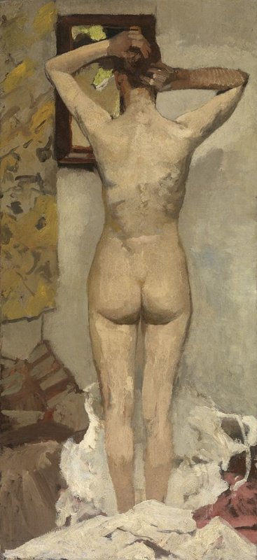 George Hendrik Breitner, Staand naakt, 1893
