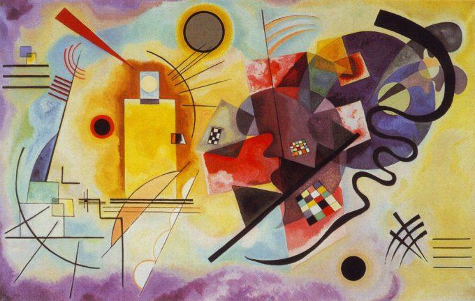 Wassily Kandinsky, Geel rood blauw, 1925