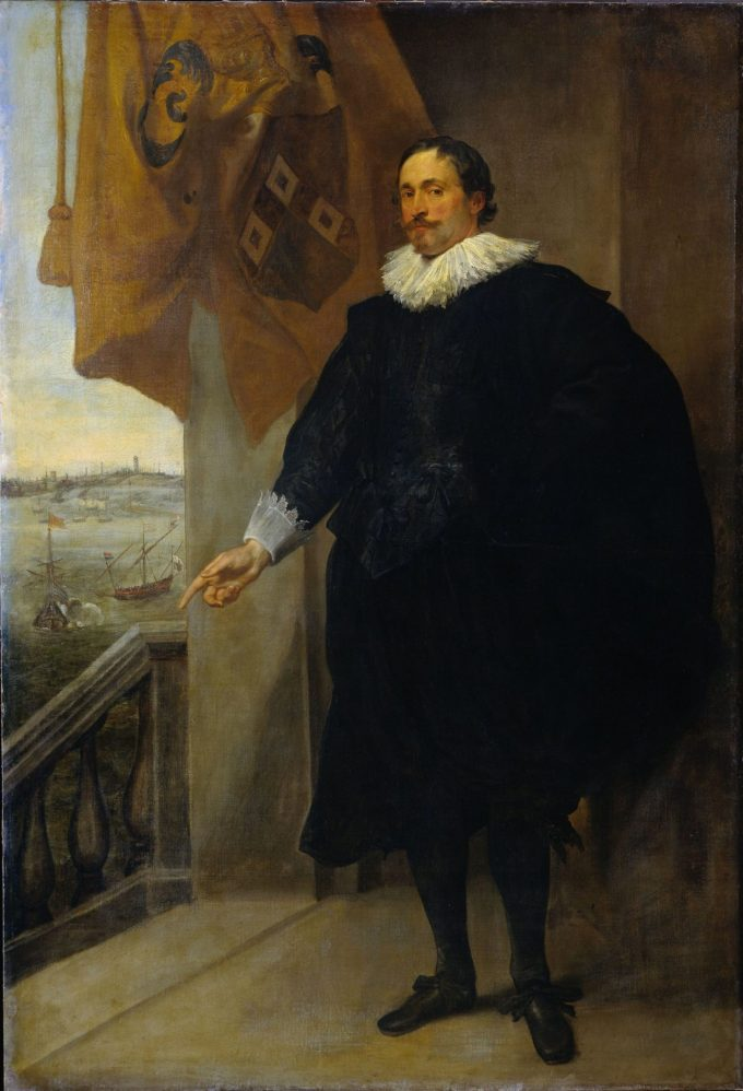 Nicolaes van der Borght, koopman te Antwerpen, Anthony van Dyck, 1625 - 1635