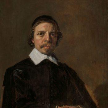 Portret van een man, mogelijk een geestelijke, Frans Hals, ca. 1657 - ca. 1660