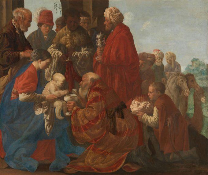 De aanbidding der koningen, Hendrick ter Brugghen, 1619