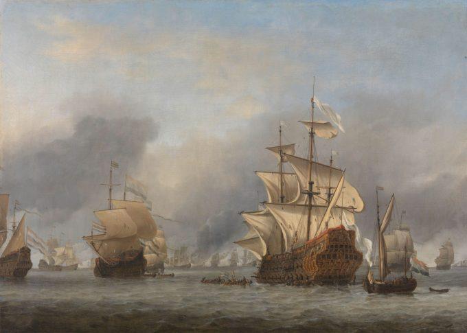 De verovering van de Royal Prince Willem van de Velde (II)