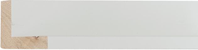 Museum mat wit, 10x39x28mm (breedte x hoogte x diepte)