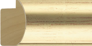 Bol goud, 54x32mm (breedte x hoogte)