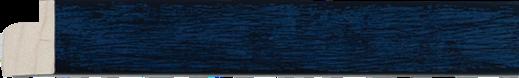 Blauw, zwarte rug, 20x15mm (breedte x hoogte)