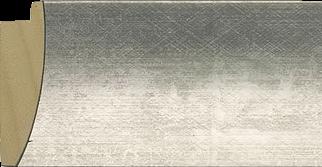 Bol zilver, 56x18mm (breedte x hoogte)