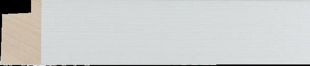 Loft witte afwerking 33x24mm (breedte x hoogte)