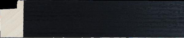 Loft zwarte afwerking 33x24mm (breedte x hoogte)