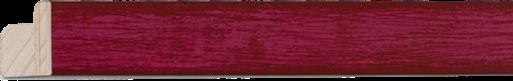 Mat rose, zwarte rug, 20x15mm (breedte x hoogte)