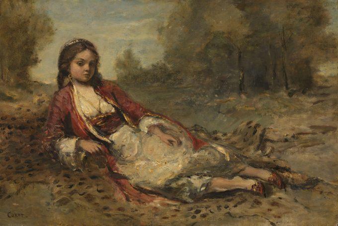 Algérienne, Camille Corot, 1871 - 1873