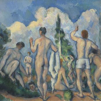 Paul Cézanne, Les Baigneurs, 1890-1891