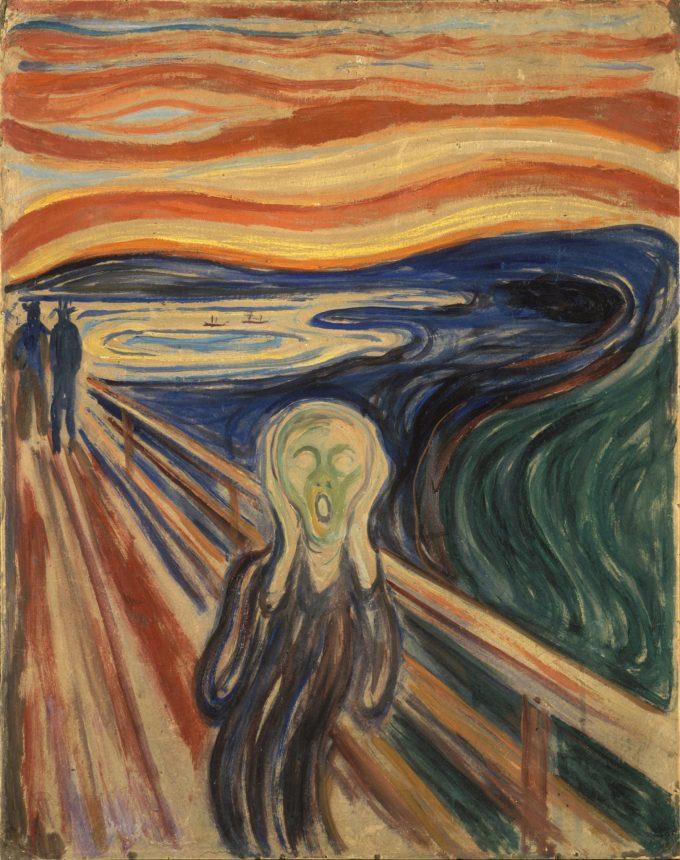 Edvard Munch, De schreeuw, 1910