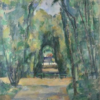 Paul Cézanne, L'Allee a Chantilly, 1888