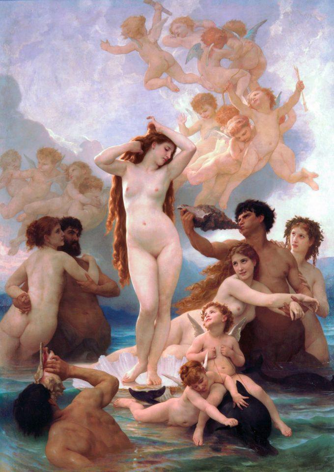 Paul Cézanne, The Battle of Love, 1880