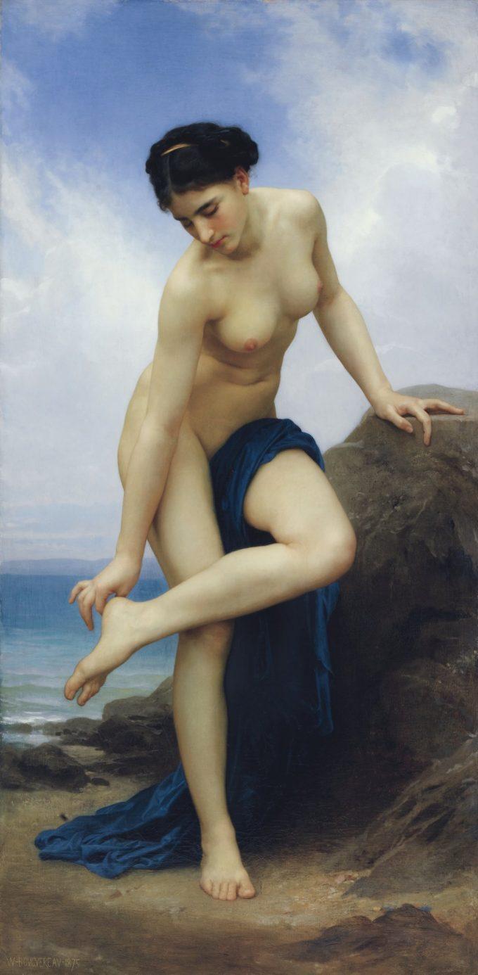 William-Adolphe Bouguereau, Na het bad, 1875