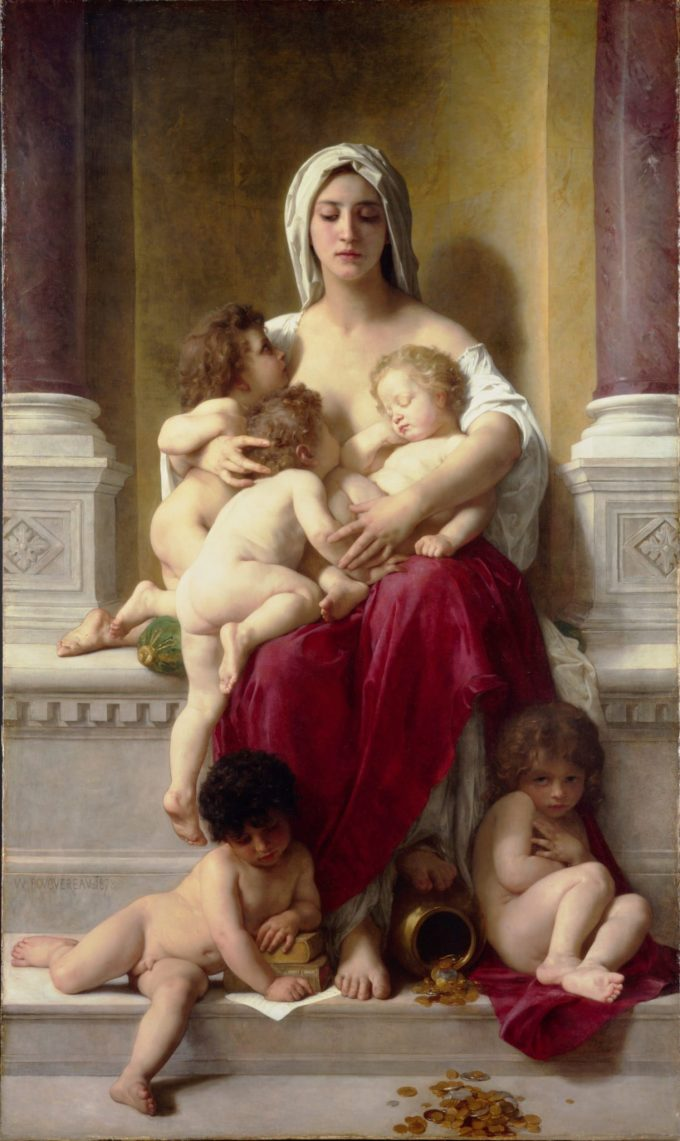 William-Adolphe Bouguereau, Liefdadigheid, 1878