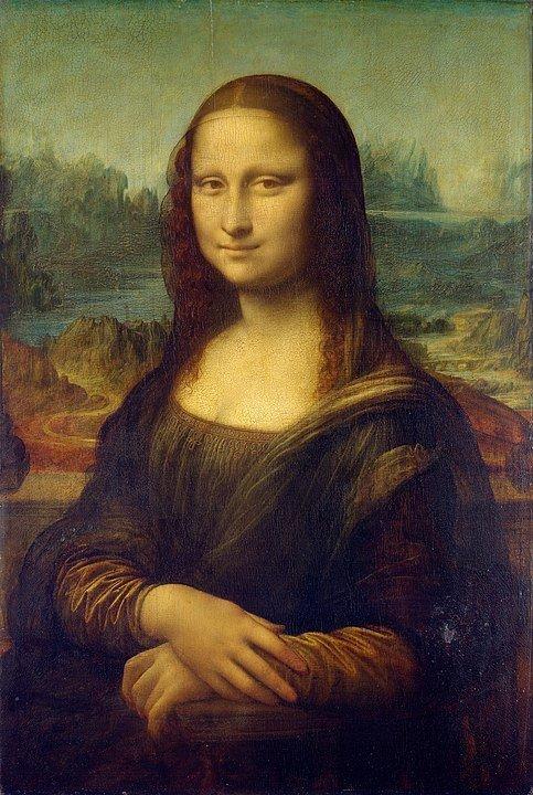 Leonardo da Vinci, Mona Lisa, circa 1503-1506