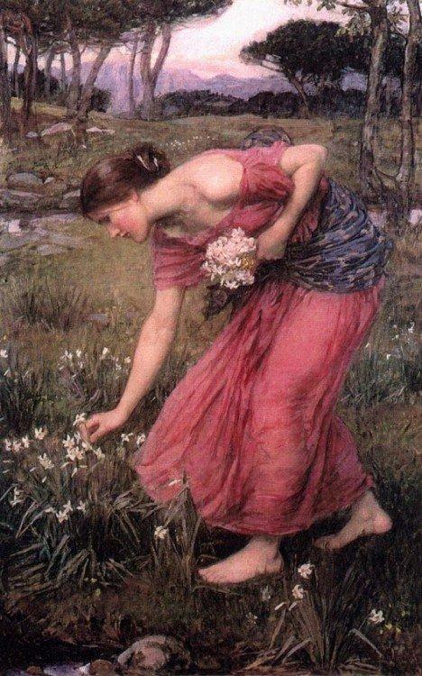 John William Waterhouse, Narcissus, 1912