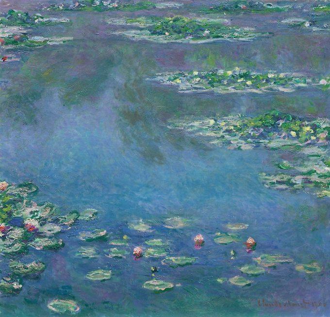Claude Monet, Waterlelies uit 1906