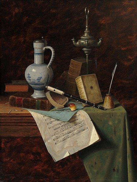 William Michael Harnett, Mijn edelstenen, 1888