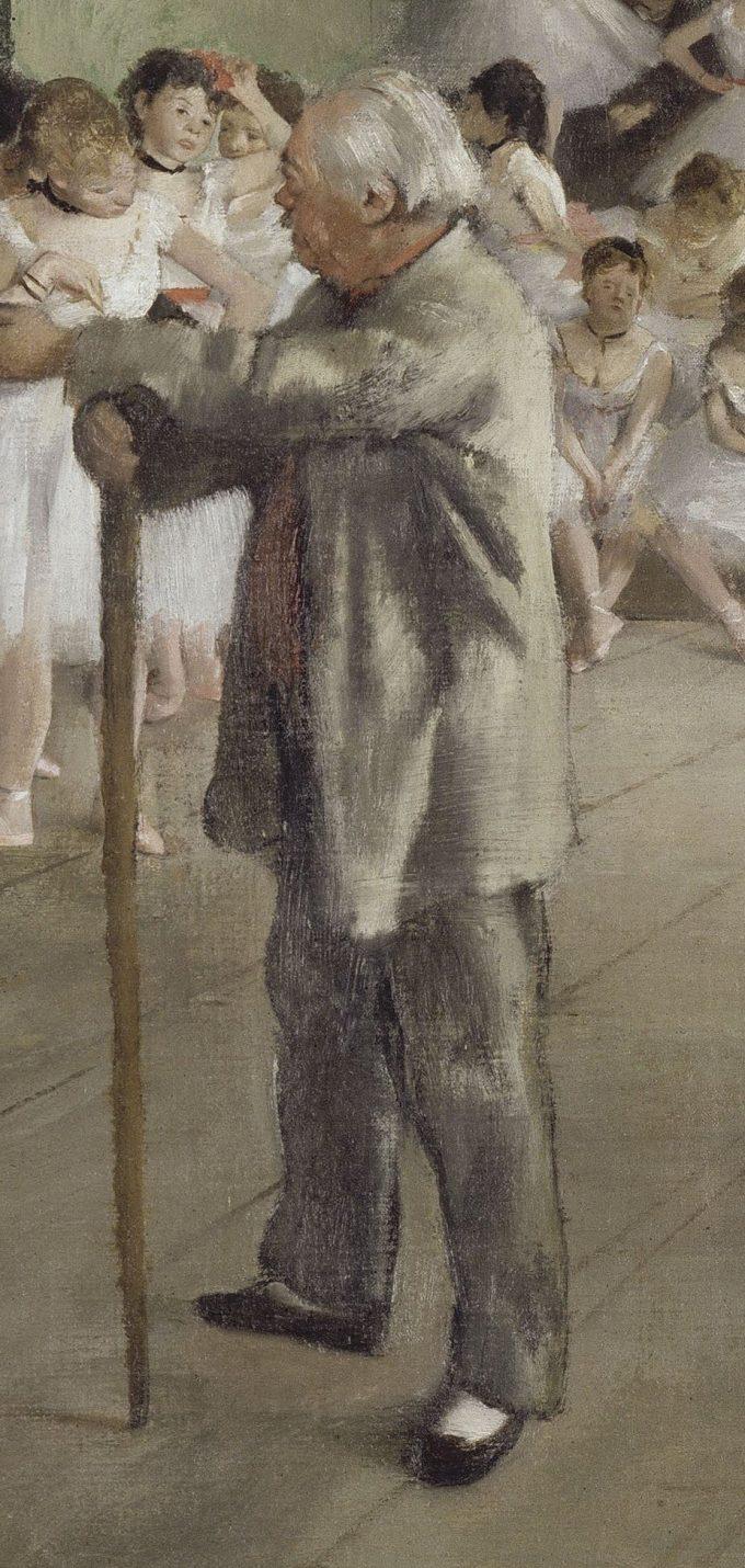 Edgar Degas, La Classe de danse, 1871