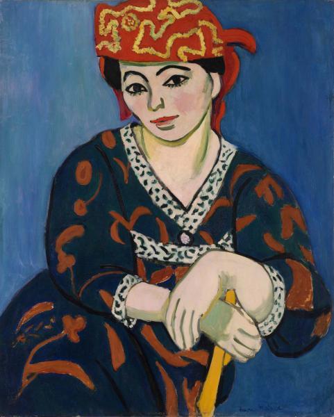 Henri Matisse, Mevrouw Matisse Madras, 1907